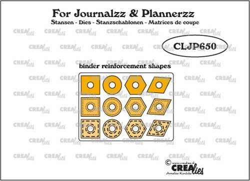 CreaLies - For Journalzz & Planners - Reinforcement Shapes