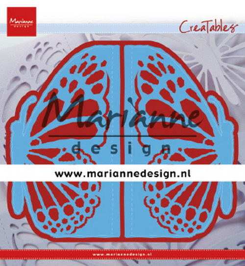 Marianne Design - Die - Creatables - Gate Folding Die Butterfly