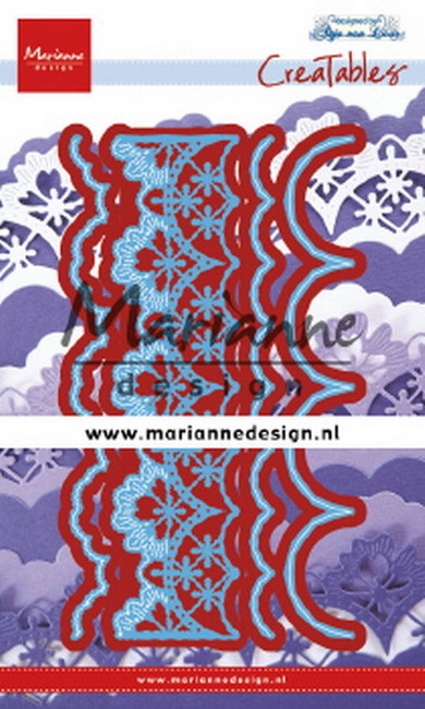 Marianne Design - Die - Creatables - Anja's Mix and Match Edge