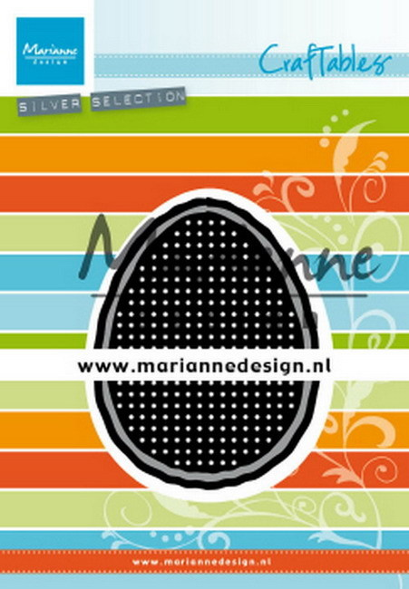 Marianne Design - Die - Craftables - Cross Stitch Easter Egg