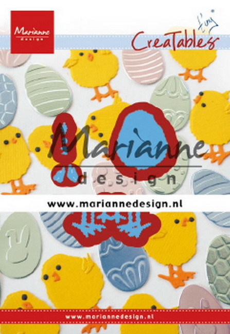 Marianne Design - Die - Creatables - Tiny's Easter Chick
