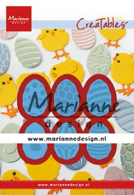 Marianne Design - Die - Creatables - Easter Eggs