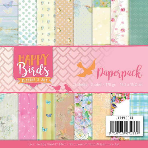 Jeanine's Art - Paperpack - Happy Birds