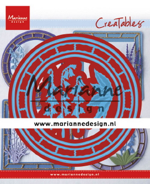 Marianne Design - Die - Creatables - Blue Bell Circle
