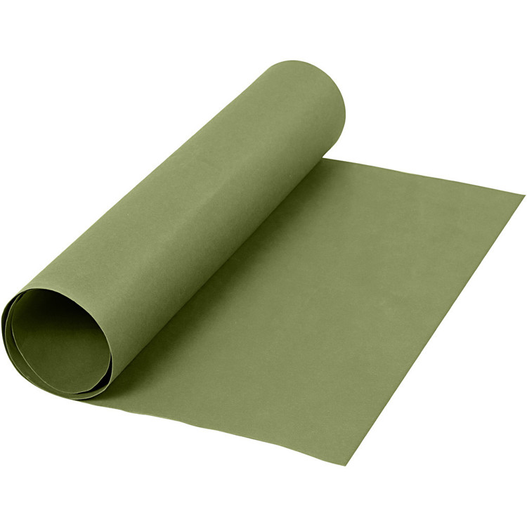 Faux Leather Paper - rol 50x100 groen