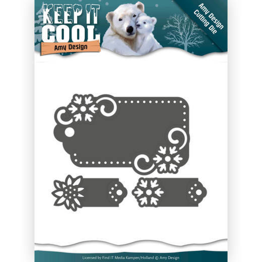 Amy Design - Die - Keep It Cool - Cool Tags