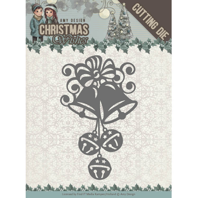 Amy Design - Die - Christmas Wishes - Christmas Bells