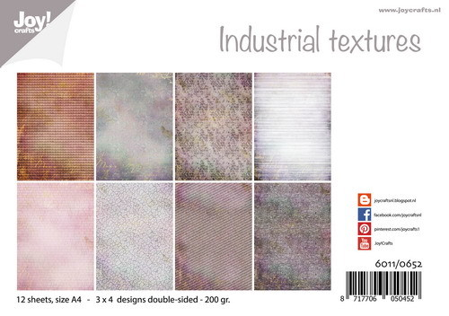 Joy!Crafts - Papierset -Industrial Textures