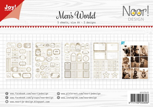 Joy!Crafts - Labelsheet - Men's World