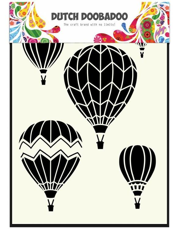 Dutch Doobadoo - Mask Art - Airballoons Multi A5