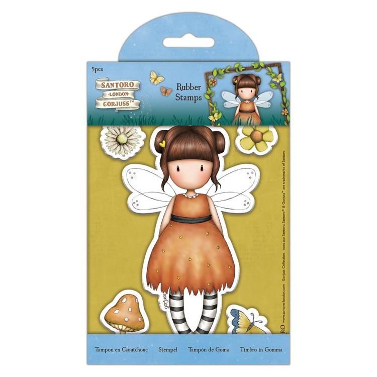 DoCrafts - Rubber Stamps - Santoro - Gorjuss - Faerie Folk - Little Pumpkin