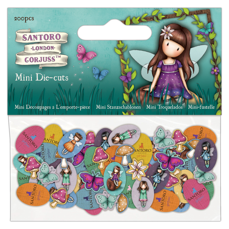 DoCrafts - Santoro`s Gorjuss - Mini Die-Cuts - Faerie Folk 2