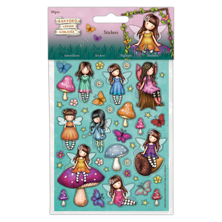 DoCrafts - Santoro`s Gorjuss - Sticker - Faerie Folk 2