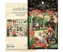 Graphic45 - Christmas Time Die Cut Assortiment - 4502124