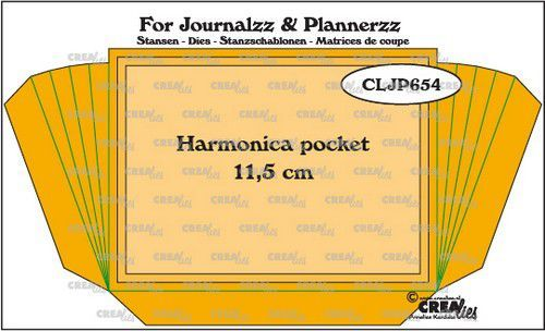CreaLies - For Journalzz & Planners - Harmonica Pocket