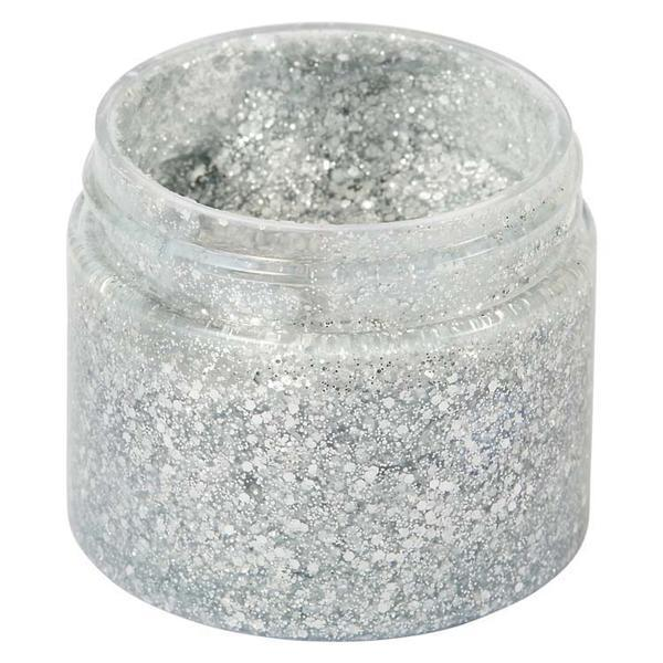 Creative Expressions - Cosmic Shimmer Ultra Sparkle Paste - Silver Chrome