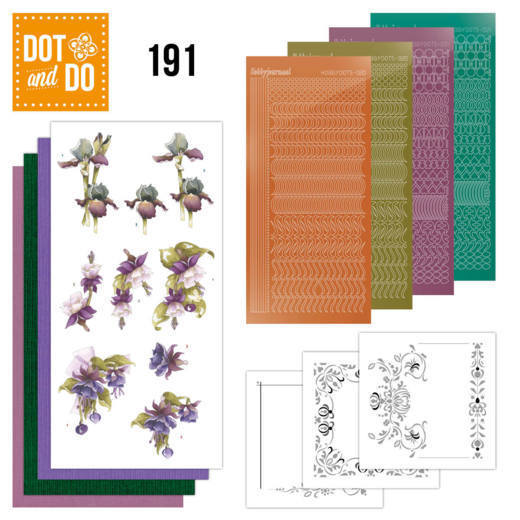 Dot and Do 191 - Pretty Flowers