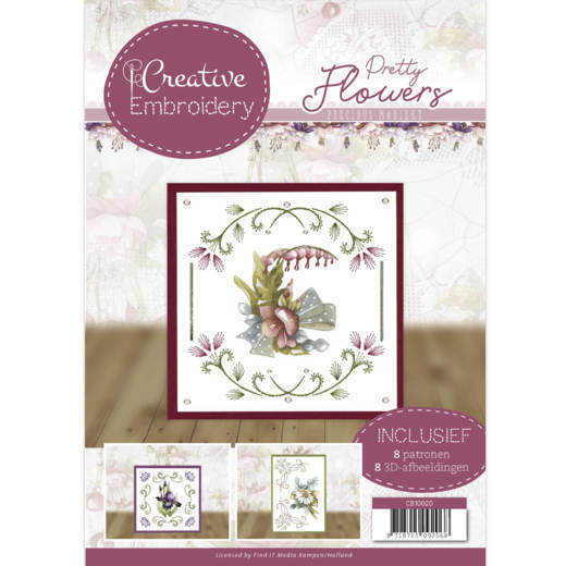 Precious Marieke - Creative Embroidery - Pretty Flowers