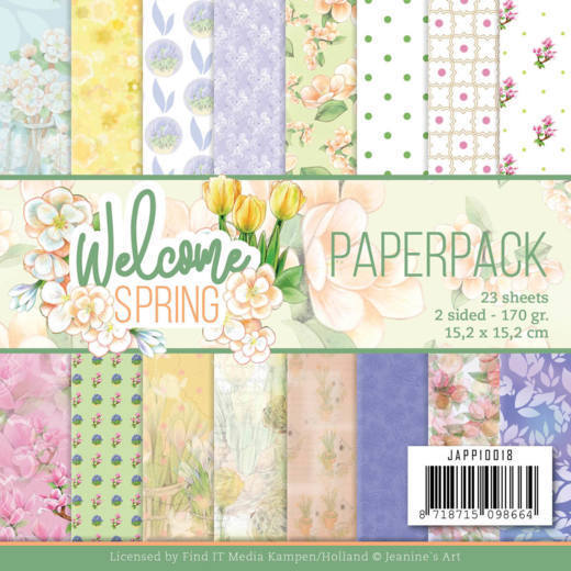 Jeanine's Art - Paperpack - Welcome Spring