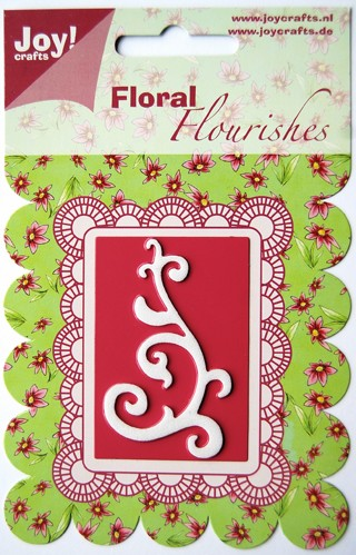 Joy!Crafts - Cutting - Floral Flourishes - Swirl 1