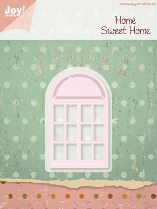 Joy!Crafts - Cutting & Embossing - Home Sweet Home - Stencil Raam Dubbel