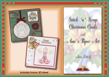 Hobbydols 35 - Stitch 'n' Scrap Christmas Cards with Ann's Paper Art