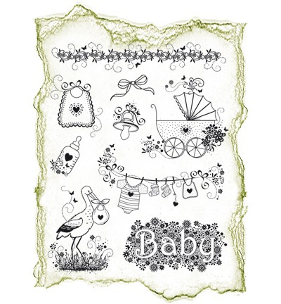 Viva Decor - Clear Stamps - Geboorte