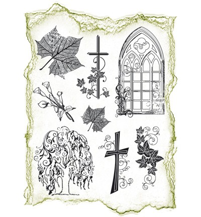 Viva Decor - Clear Stamps - Condoleance