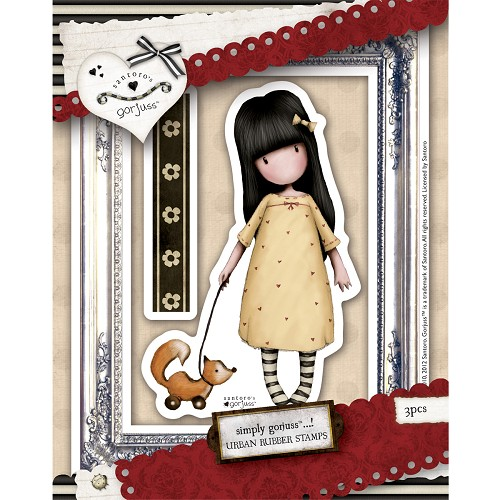 DoCrafts - Rubber Stamps - Santoro - Gorjuss - The Pretend Friend