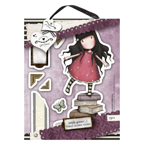 DoCrafts - Rubber Stamps - Santoro - Gorjuss - New Heights