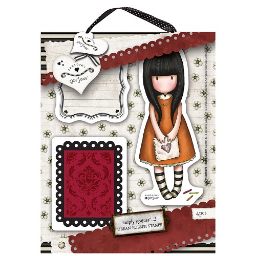 DoCrafts - Rubber Stamps - Santoro - Gorjuss - I Gave You My Heart