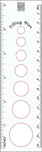 Nellie Snellen - Filling Die - Circle size ruler