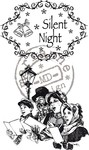 Marianne Design - Cling Stamp - Vintage Christmas - Silent Night