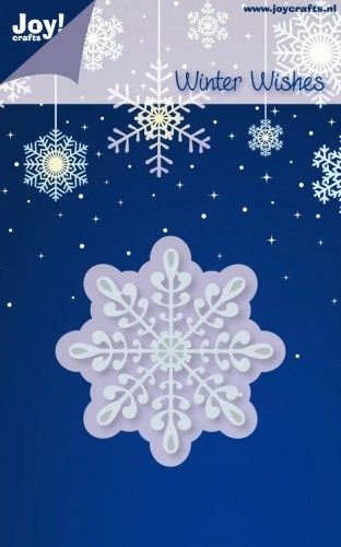 Joy!Crafts - Winter Wishes - Cutting & Embossing - IJskristal 3