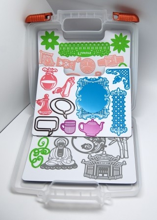 Joy!Crafts - Opbergbox voor stencils
