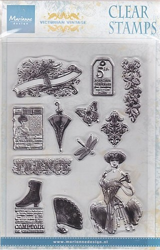 Marianne Design - Clearstamp - Victorian Ladies 1