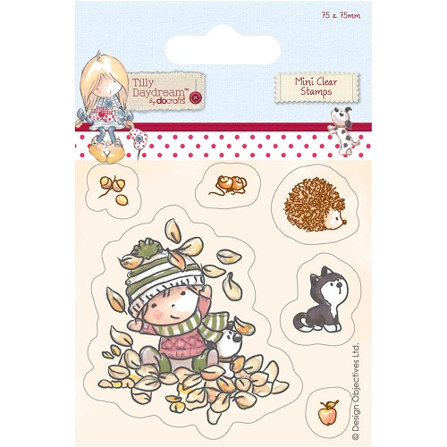 DoCrafts - Mini Clear Stamp - Tilly Daydream - Terry