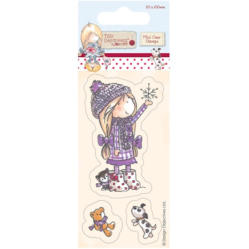 DoCrafts - Mini Clear Stamp - Tilly Daydream - Snowflake