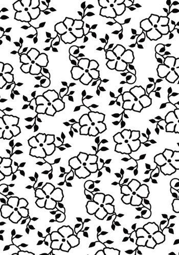 Hobby Solution - Embossing folder- Bloemen klein