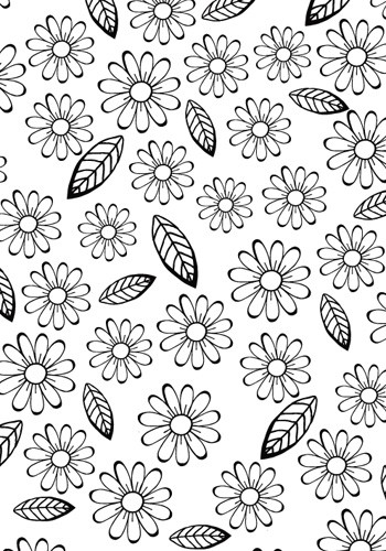 Hobby Solution - Embossing folder- Bloemen en Blaadjes