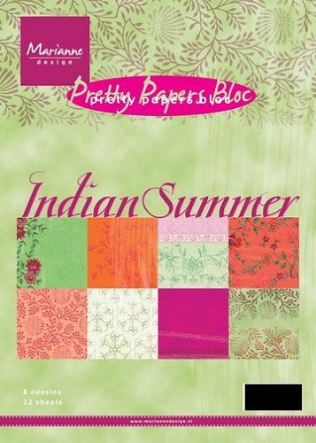 Marianne Design - Pretty Papers Bloc - Indian Summer