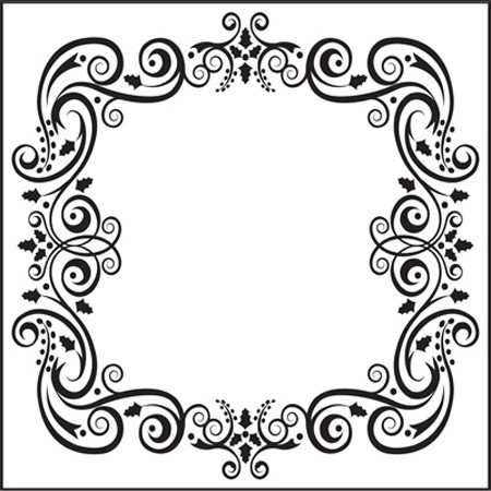 Nellie Snellen - Embossing Folder Christmas square-1