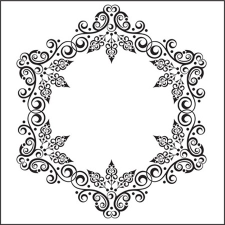 Nellie Snellen - Embossing Folder Christmas round-1