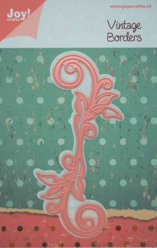Joy!Crafts - Vintage Borders - Swirl Bladeren