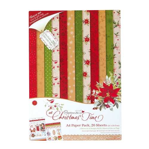 A4 Paper Pack (26PK) - At Christmas Time