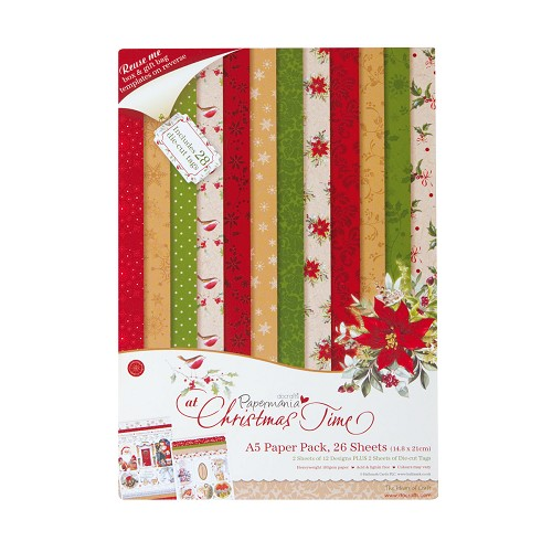 A5 Paper Pack (26PK) - At Christmas Time