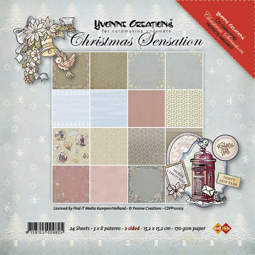 Yvonne Creations - Paperpack - Christmas Sensation - Paperpack