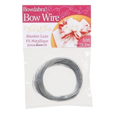 Bow Wire 15 meter - Zilver