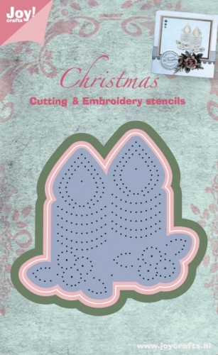 Joy!Crafts Cutting & Embossing & Embroidery - Kaarsen
