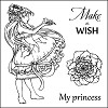 ScrapBerry`s Set Of Clear Stamps - Fairy Tale Make A Wish